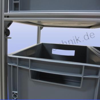 aluprofiltechnik heckgarage regalsystem campingausbau. Black Bedroom Furniture Sets. Home Design Ideas